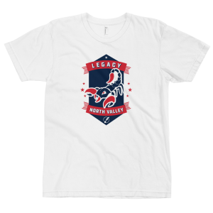 LTS North Valley Scorpions White Logo T-shirt 2020